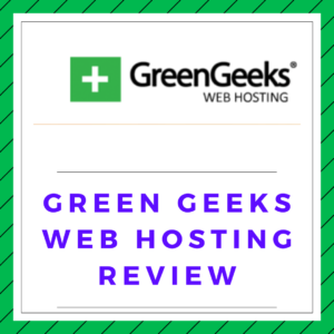 Green geeks web hosting review