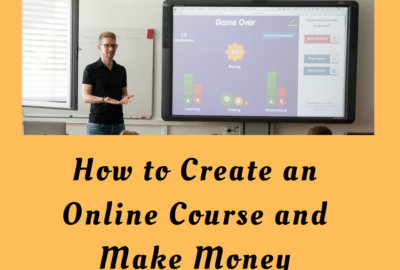 How to create an online course and make money