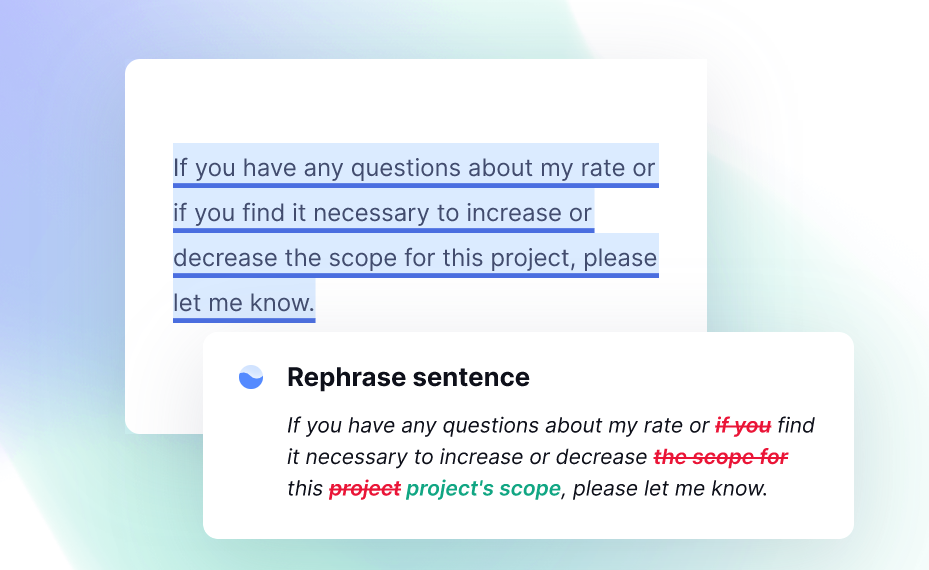 Grammarly Review writing style